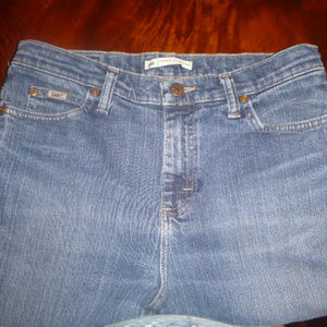 Lee relaxed straight leg, at the waist jeans
